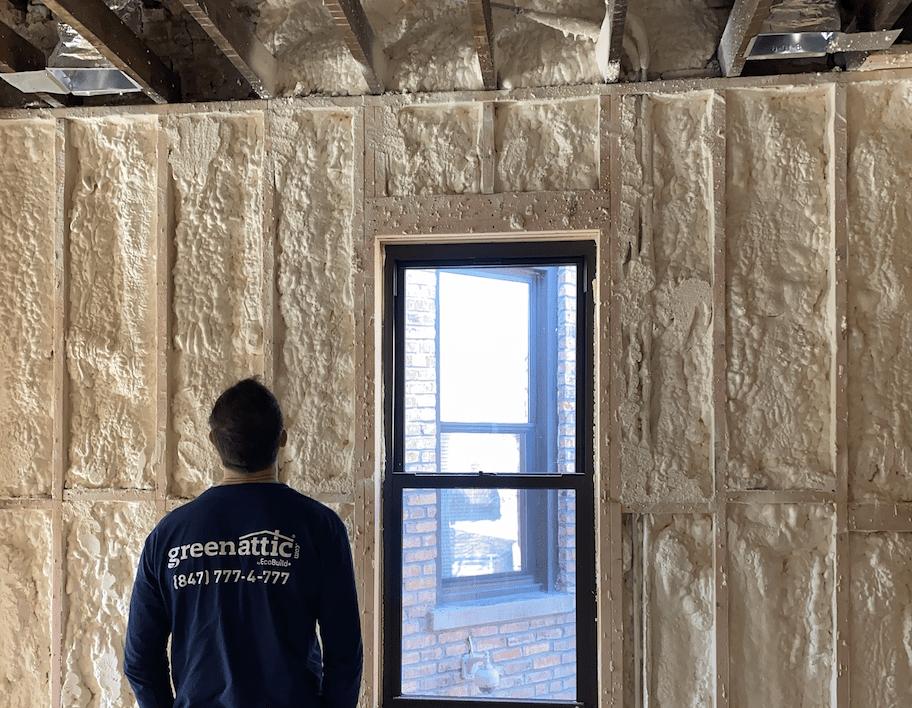 Residential Construction Spray Foam