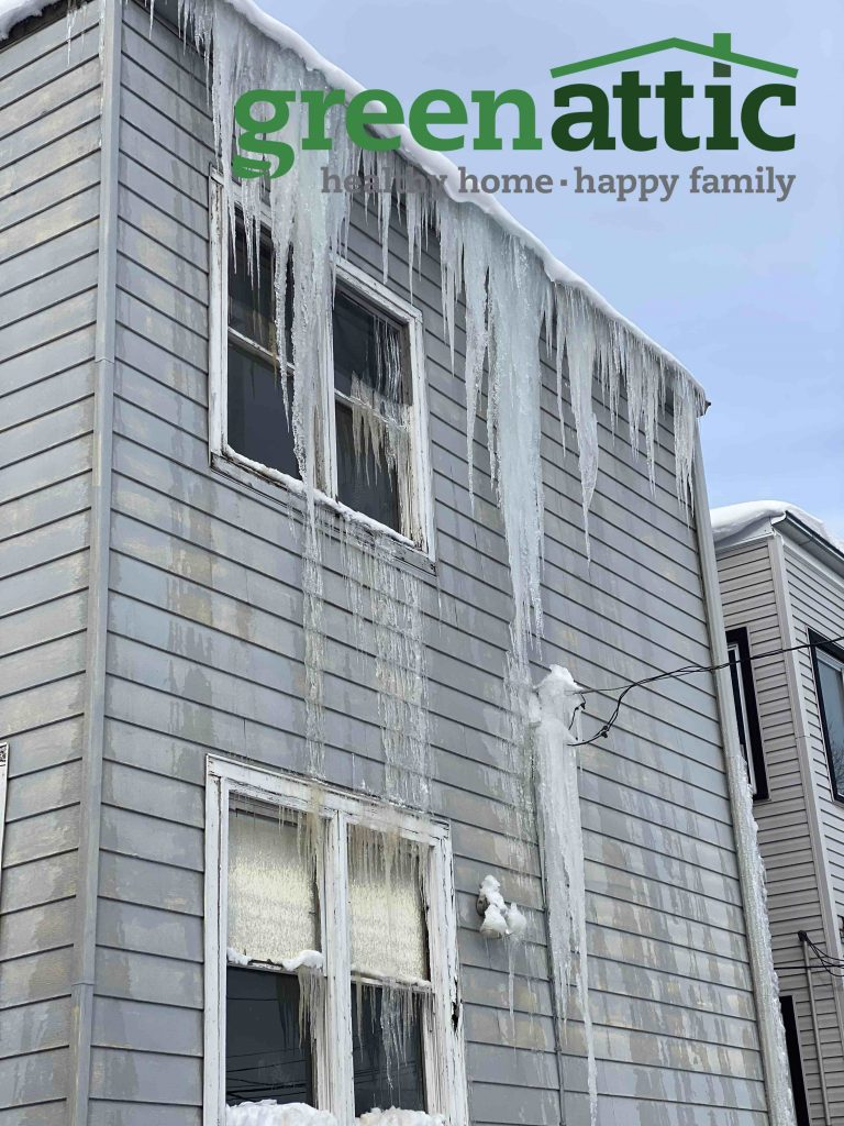icicles ice dams ice dam removal ice dam prevention chicago ill