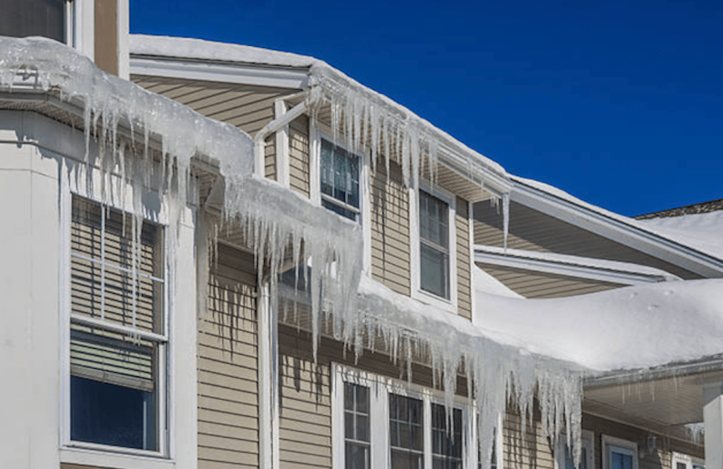 what causes and how to prevent icicles