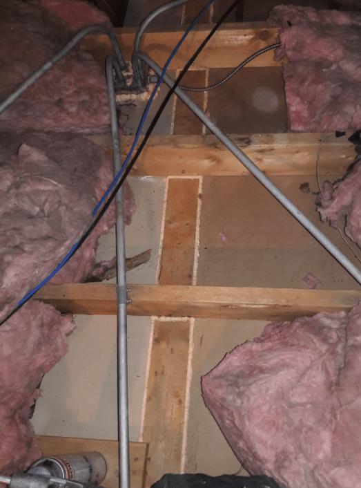 air seal bypass attic floor