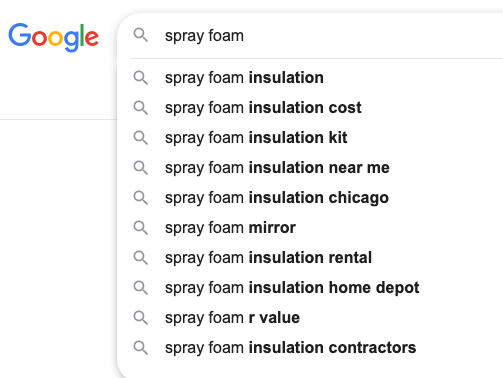 spray foam google search results april 2021 chicago illinois