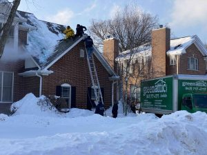 Ice Dam Removal - Mount Prospect 1