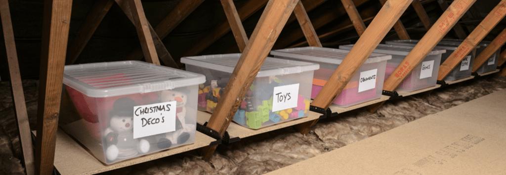attic storage solutions green attic insulation storage